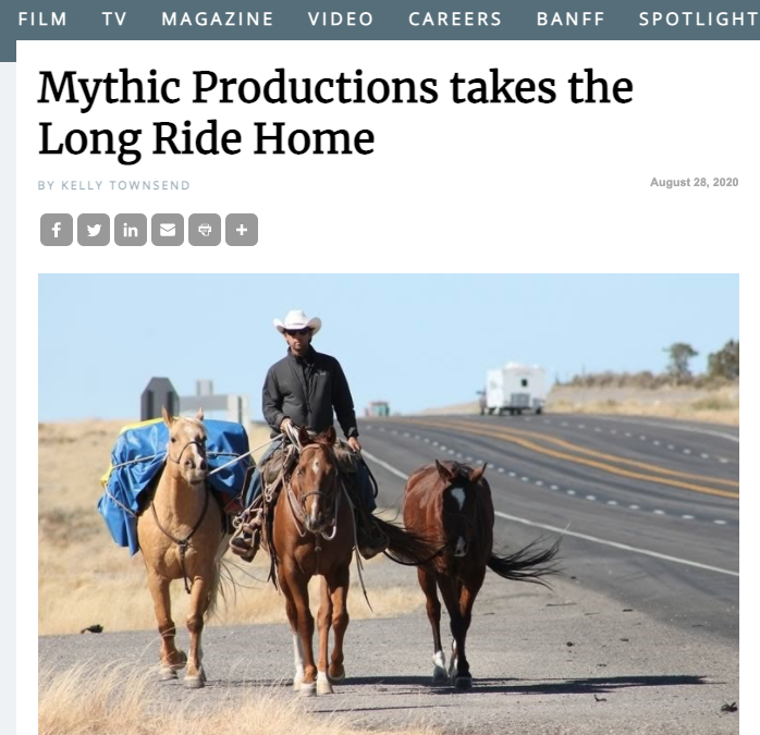 Mythic Productions takes the Long Ride Home
